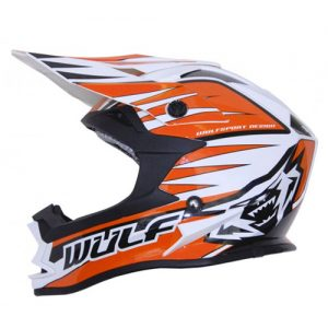 Kids-Orange-Sports-Off-Road-Safety-Helmet